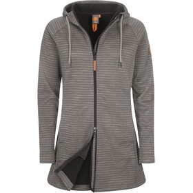 Elkline Gönndir Fleece Jacke Damen grey-black